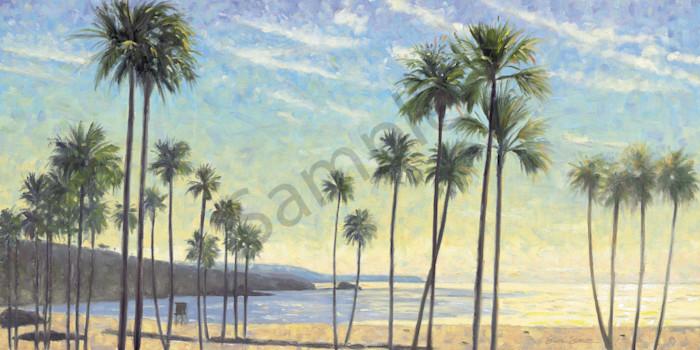 Palms on Corona del Mar Beach