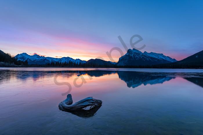 Mt. Rundle Vermilllion Lakes
