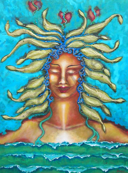 Lady of the Ocean Singing
