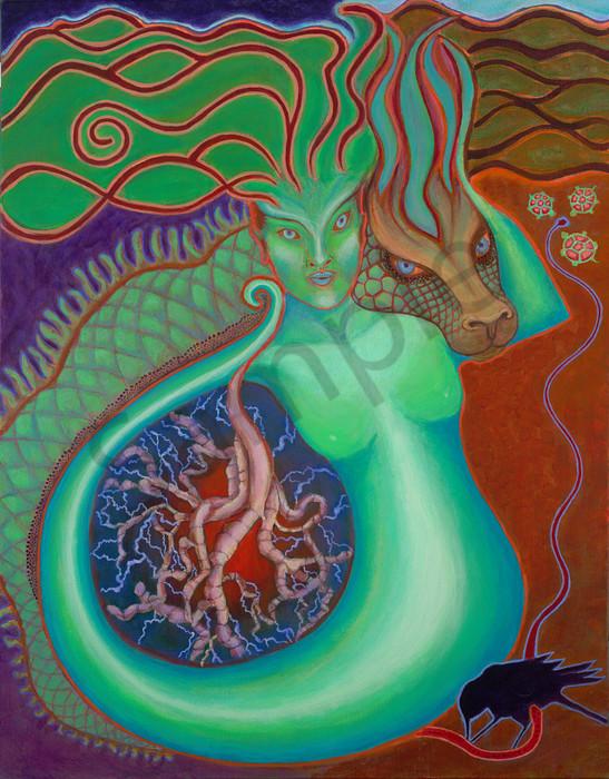 Green Dragon Goddess