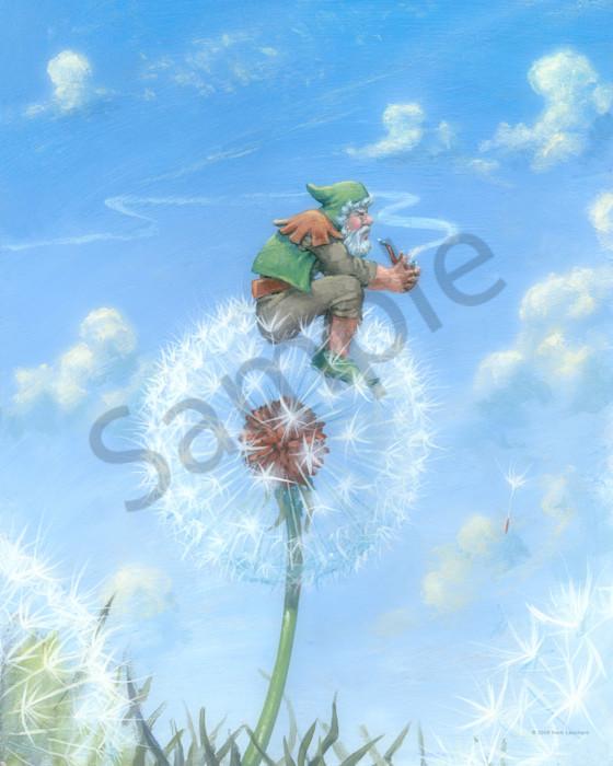 Dandelion Gnome