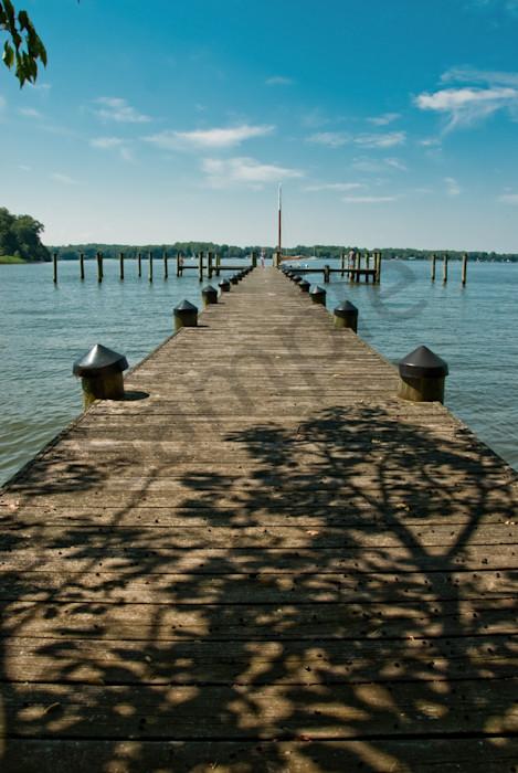 Endless Dock Landscape Photo Wall Art by Landscape Photographer Melissa Fague