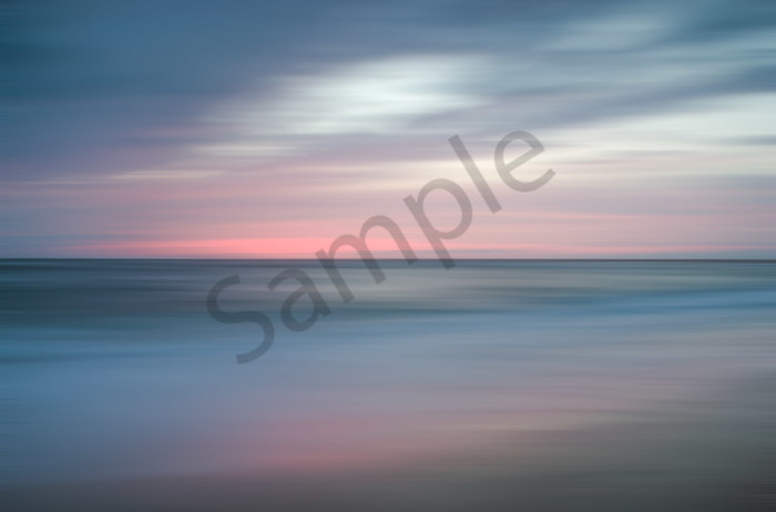 The Colors of Evening on the Beach Landscape Photo Wall Art by Landscape Photographer Melissa Fague