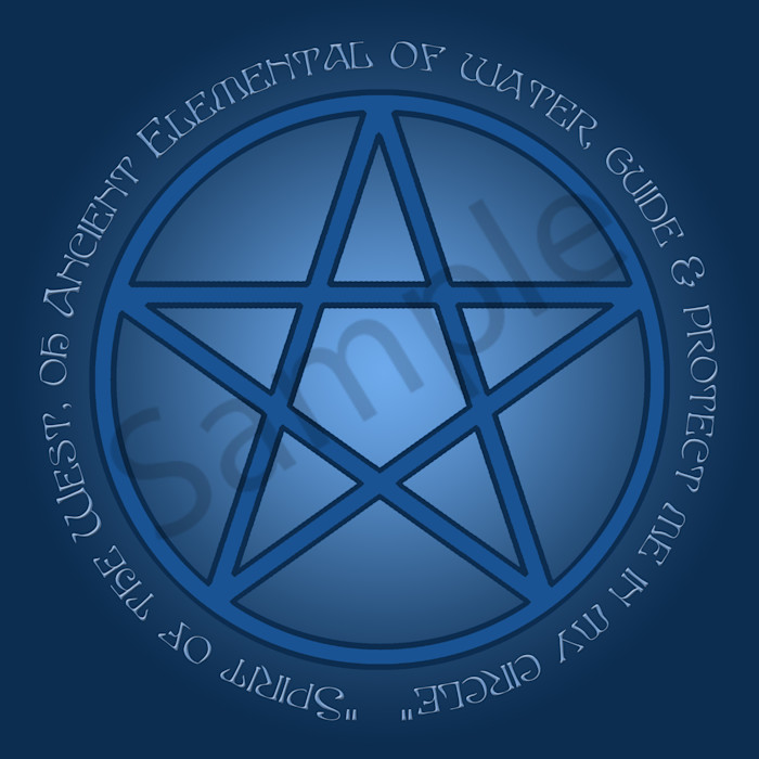 Spirit of Water Pentacle
