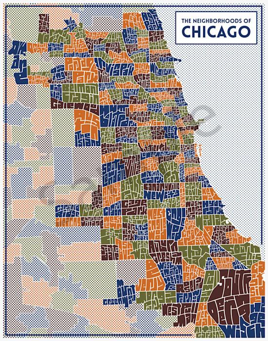 chicago-typography-neighborhood-map