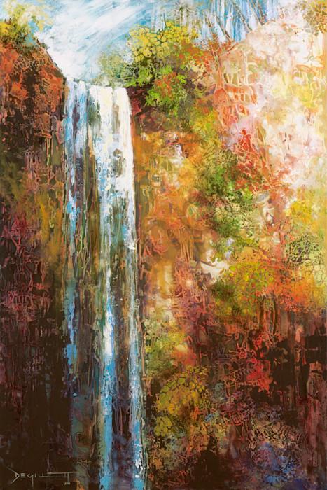 Queen Mary Falls by De Gillett