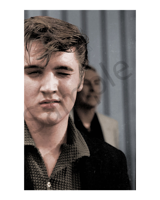 Elvis Presley Winking