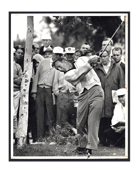 Arnold Palmer, King of Swing