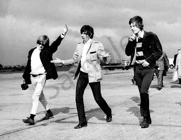 The Rolling Stones at Renfrew Airport