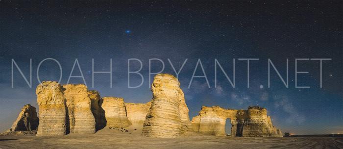 Monument Rocks - Noah Bryant