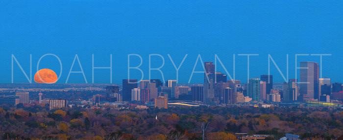 Denver Skyline - Photograph by Noah Bryant
