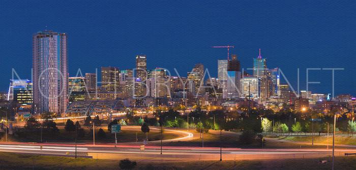 Denver Skyline - Noah Bryant