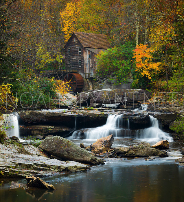 Glade Creek Grist Mill - Noah Bryant