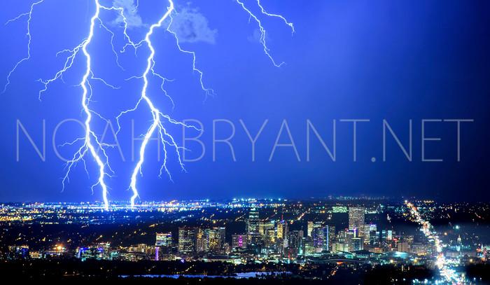 Thunderstorm Over Denver - Noah Bryant