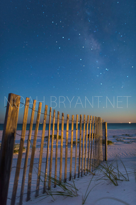 Milky Way over the Gulf by Noah Bryant