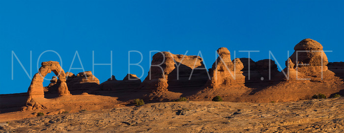 Delicate Arch Panorama - Noah Bryant