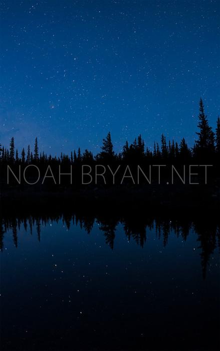Rocky Mountain Night Sky - Noah Bryant