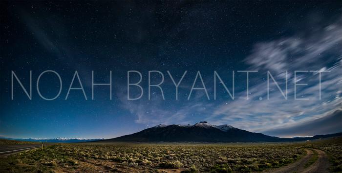 Mount Blanca at Night - Noah Bryant