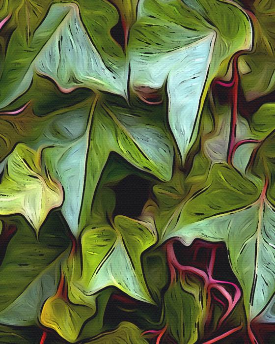 Ivy Wall art