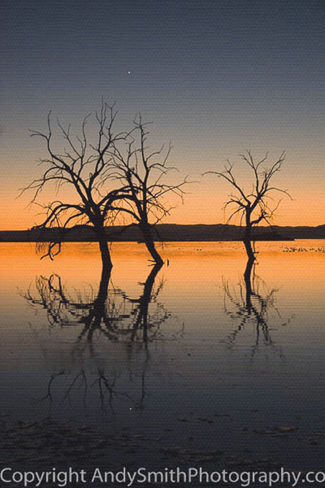 Venus Reflection at Sunset fine art photograph