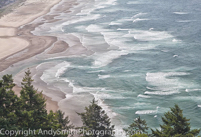 Waves of Sea and Sand fine art photograph