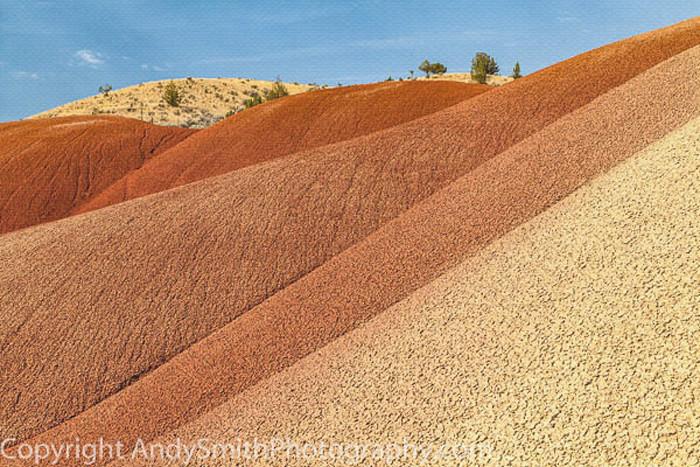 of Painted Hills Ripple ,fine art photograph