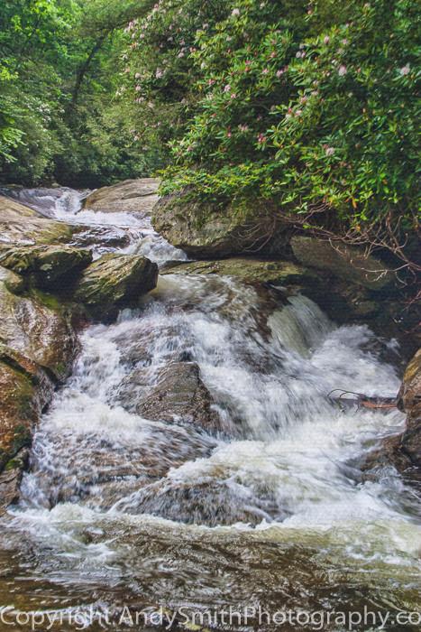 Lower Part of Upper Creek Falls  fine art photograph