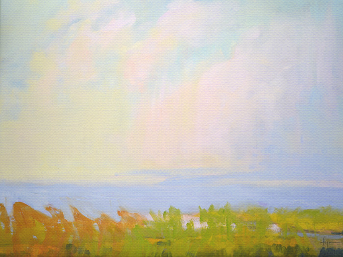 Break of Day | Cloud Painting by Dorothy Fagan
