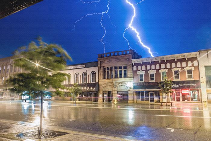 Lightning Strikes Charlotte