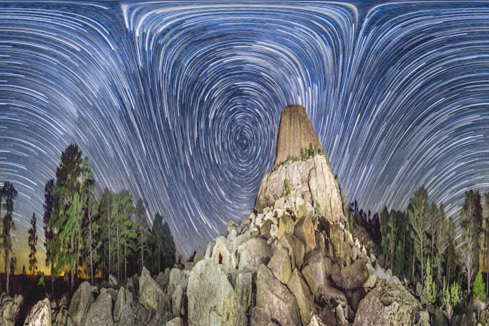 Devils Tower & The Heavens