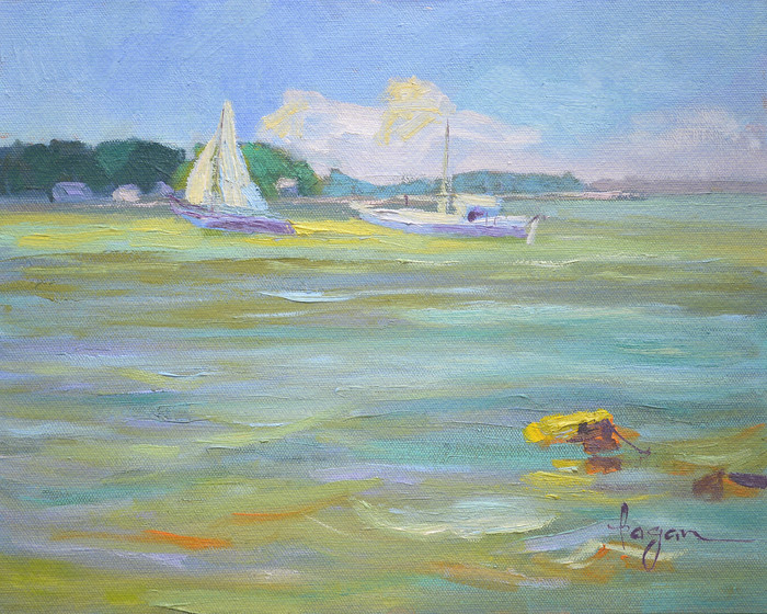 Freya Homecoming Gwynn's Island print by Dorothy Fagan