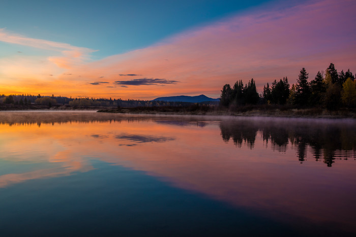 the mirror for sunrise