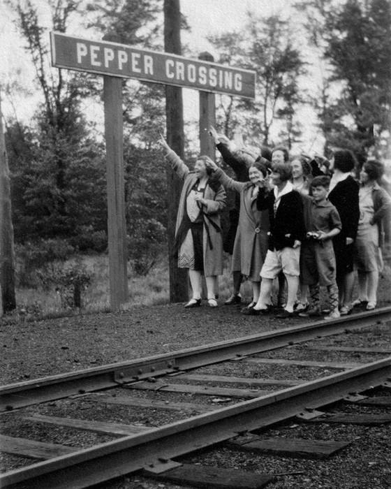 Flagging Down The Train
