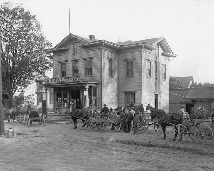 Burr Hawley's Store
