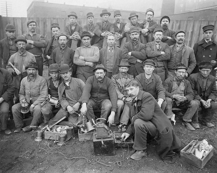 Lime Kiln Quarry Workers