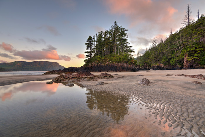 Second Beach San Josef Bay Photograph for Sale as Fine Art.