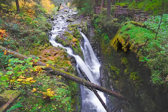 Sol Duc Falls Photograph for Sale as Fine Art.