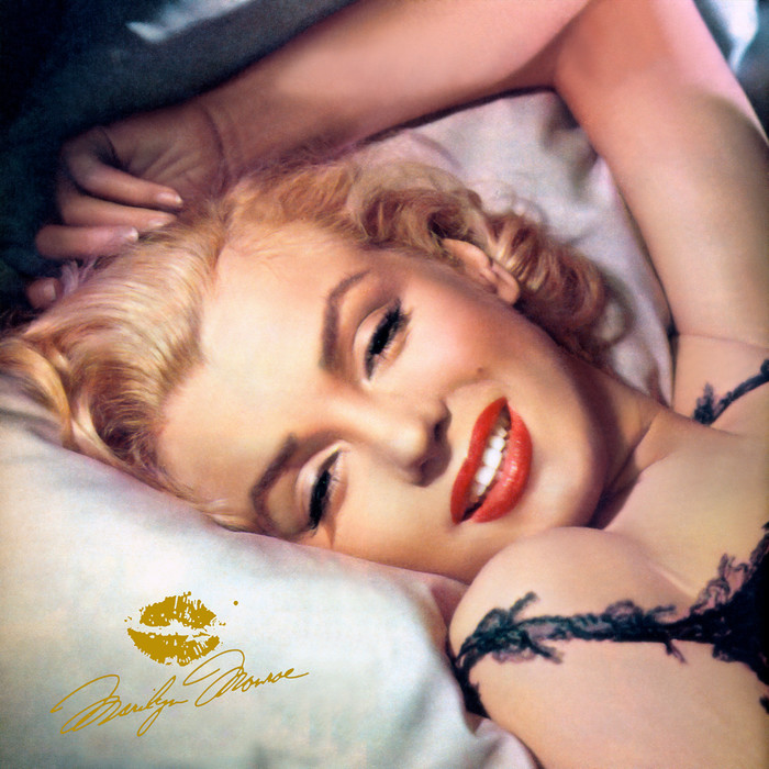 Marilyn Monroe, Pillow Talk, Color Version.