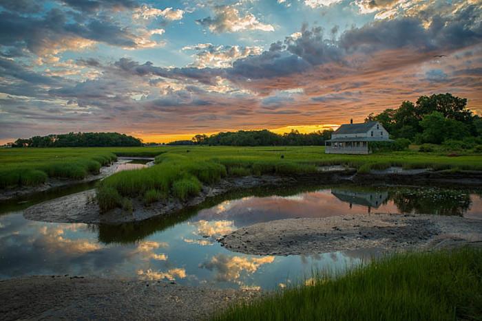 Heaven on Essex Marsh