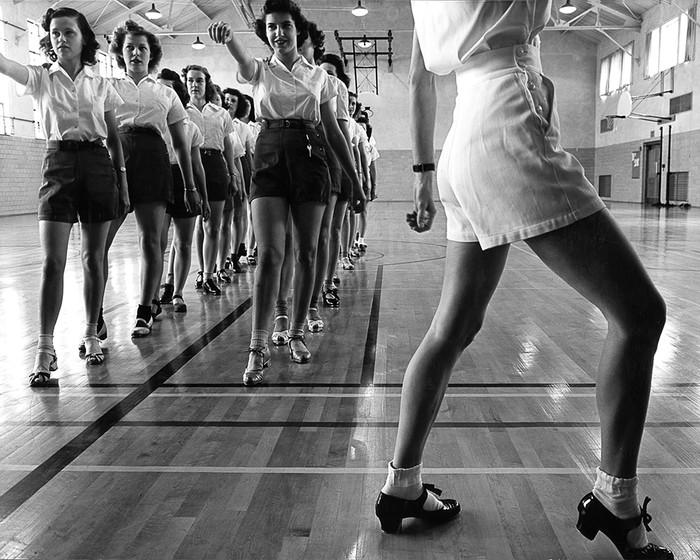 Tap Dancing Class At Iowa State College