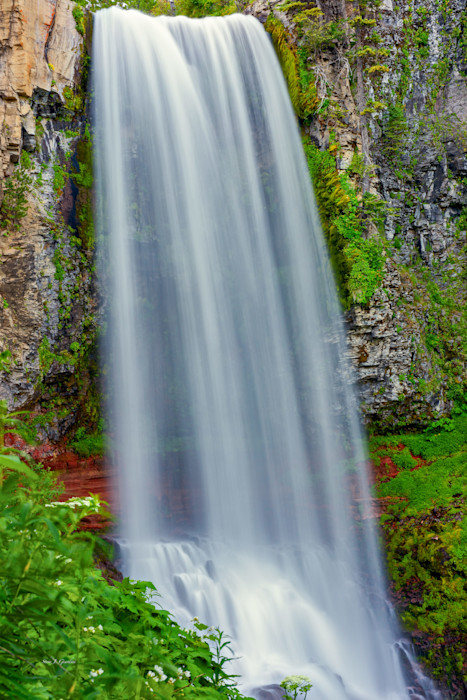 Tumalo Creek Falling (131484LND8-S) Photograph for Sale as Fine Art