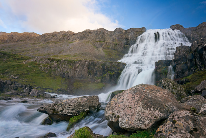Dynjandi Iceland Photograph for Sale as Fine Art.