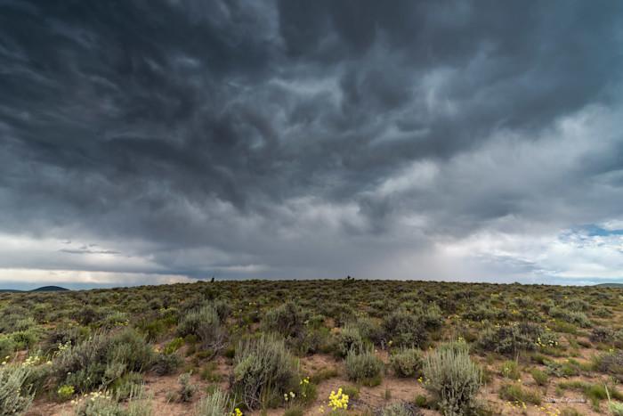 High Desert Storm (151218LND8-S) Photograph for Sale as Fine Art
