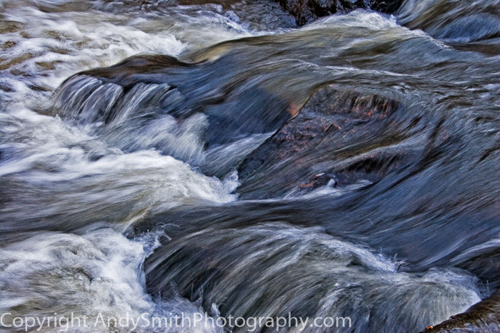 Fowing Water on the Brandywine  fine art photograph