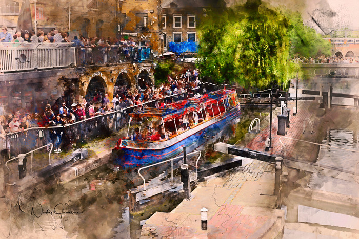 Saturday Afternoon at Camden Lock | Nicky Jameson