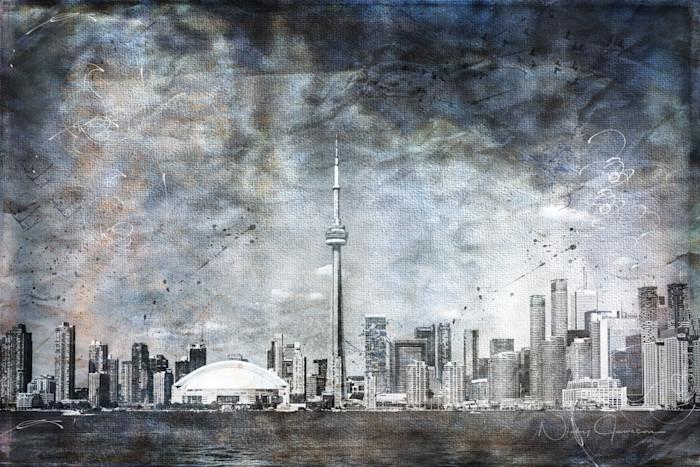 Quiet Sky, Toronto Skyline