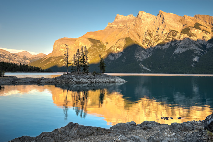 Lake Minnewanka Photograph for Sale as Fine Art.