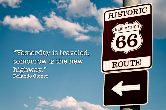 Yesterday is Traveled