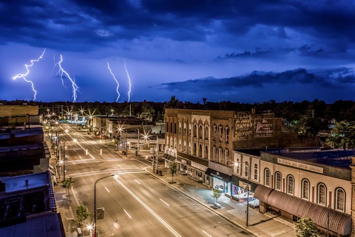 Lightning Coming for Charlotte, MI