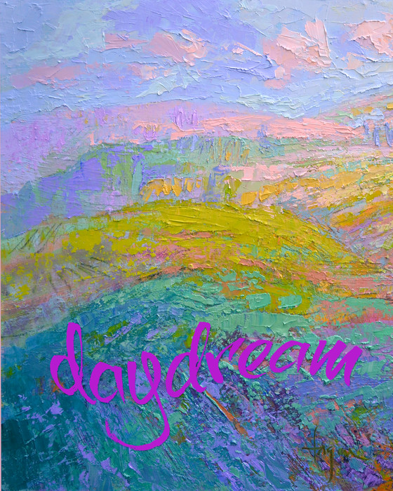 """Daydream"" Real Words for Real Women, Dorothy Fagan inspirational artist"